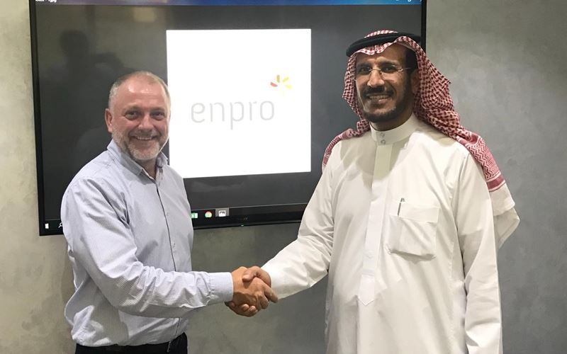 Innovar Solutions Middle East partners with ENPRO in Saudi Arabia